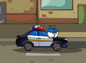 لعبة سيارات الرسومة المتحركة الشرطية