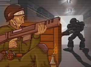 لعبة معركة الموت والجندى القناص