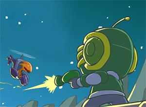 لعبة رائد الفضاء المغامر