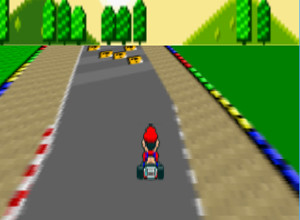 لعبة سباق سوبر ماريو