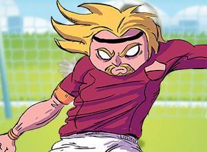 لعبة نهائى كأس عالم كرة القدم فى ضربات الجزاء الترجيحية