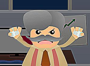 لعبة حرب المكتب والاوراق التالفة