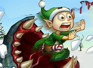 لعبة ديدان عيد الميلاد