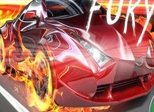 لعبة سباق سيارات النار