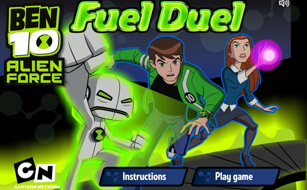 لعبة Ben 10 و الوقود