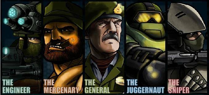 لعبة حرب الأبطال