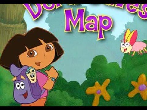 العاب مغامرات دورا والبحث عن الخريطة