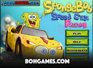 لعبة سبونج بوب سباق سيارات