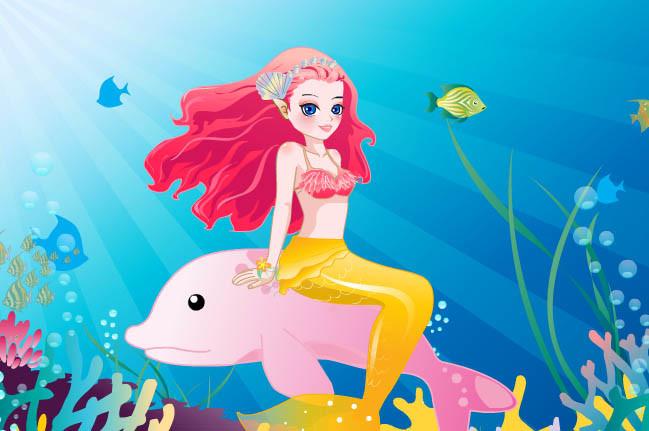 لعبة تحرير حورية البحر