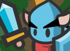 لعبة مهمة الدفاع عن القلعة والفارس الازرق
