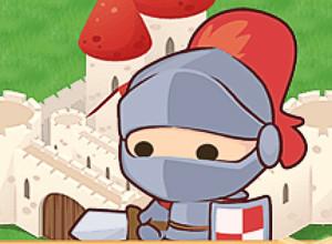 لعبة الفرسان ومهمة حماية القلعة من الغيلان الشريرة