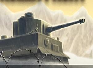 لعبة حرب دبابات الصحراء