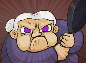 لعبة العجوز الغاضبة