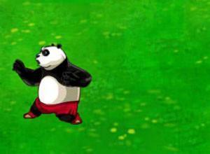 لعبة قتال الباندا