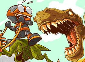 لعبة الديناصورات العملاقه