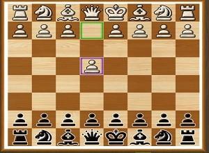 لعبة شطرنج الجنود
