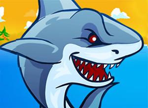 لعبة هجوم سمكة القرش والاسماك البحرية