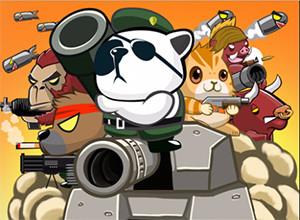 لعبة محارب الباندا و فريق المرتزقة الاخيار