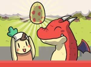 لعبة انقاذ بيضه الديناصور