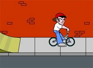 لعبة بهلوان الدراجات