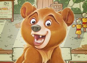 لعبة المقاتل الدب و زومبى الدببة