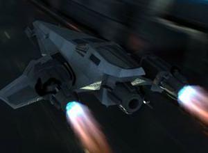 لعبة معركة حرب الطائرات الفضائية