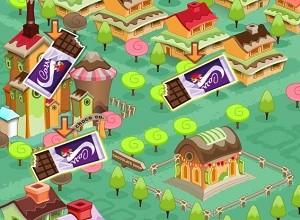لعبة ارض الشكولاتة الذيذة