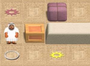 لعبة رجل الصحراء و الخروج من المتاهه
