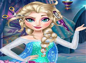 لعبة تجميل السا ملكة الثلج