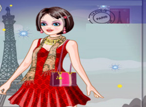 لعبة تلبيس ملكة باريس