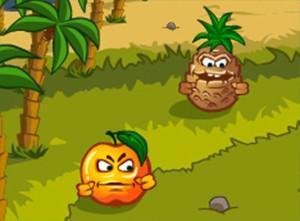 لعبة مزرعة الفواكهة وسلطة الفاكهة