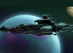 لعبة مغامرات حرب الفضاء الهندسية