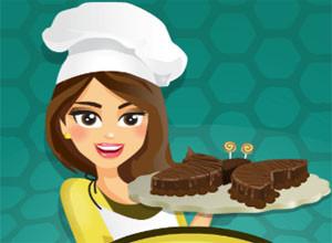 لعبة صناعة الكعكه
