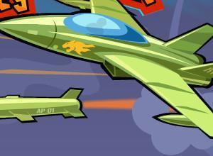 لعبة معركة حرب الطائرات المدمرة