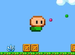 لعبة وثبات كرة ماريو الصغيرة