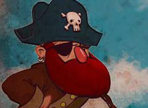 لعبة قراصنة البحر وتدمير المراكب الصغيرة