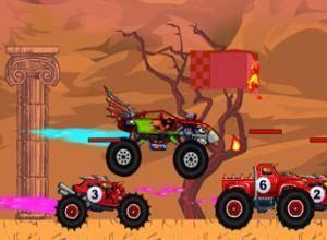 لعبة جنون شاحنة التحدي