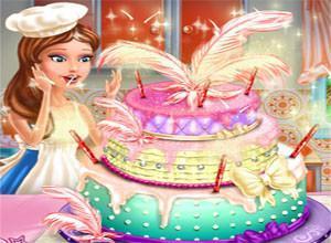 لعبة كعكة الزفاف