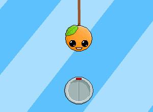 لعبة مغامرة الجاذبية والبرتقالة