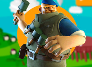 لعبة مغامرات رجل النينجا ورجل الثلج الضخم