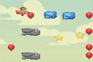 لعبة القرد جامع البالونات