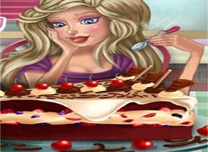 لعبة تجميل قطع الكعك