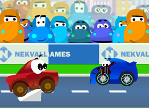 لعبة سيارات المدينة الصغيرة