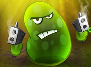 لعبة حرب البكتيرا