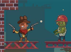 لعبة الكاوبوي والزومبي