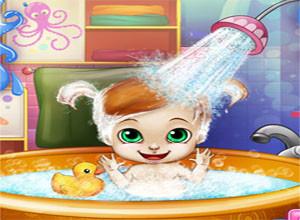 لعبة تنظيف الطفله المزعجه