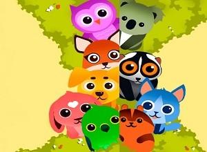 لعبة مغامرات حيوانات الغابة