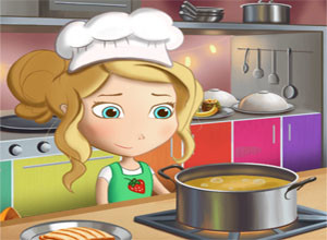 لعبة الطباخه الماهره