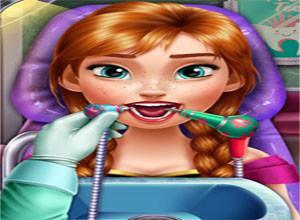 لعبة معالجة اسنان الطفله الجميله