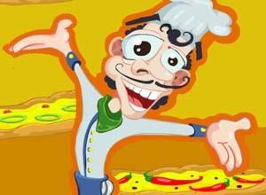 لعبة ترتيب البيتزا